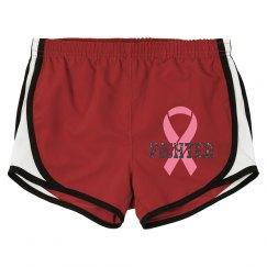 Breast cancer fighter short