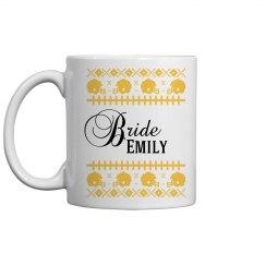 Christmas Bride Coffee Mug