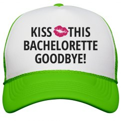 Kiss The Bachelorette Bye
