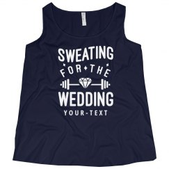 Sweating for the Wedding Plus Tank
