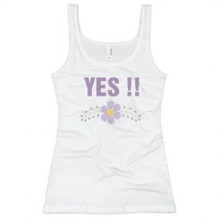 Bride's Said Yes Tank