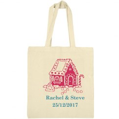 Christmas Wedding Totebag