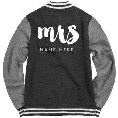 Custom Varsity Mrs.