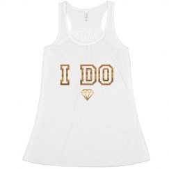 I Do Bride Tank Top Diamond Bachelorette party
