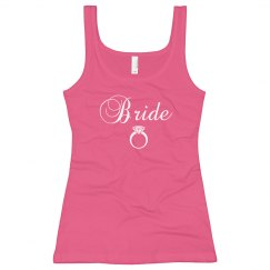 Bride To Be Pink Tank