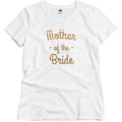 Mother of the Bride Metallic