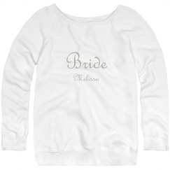Bride Wide Neck