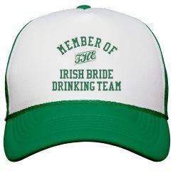 Irish Bride Drinking Team