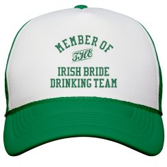 Irish Bride Drinking Team