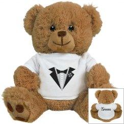 Tuxedo Groom Teddy Bear