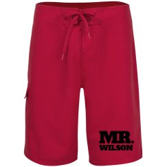 Mr. Wilson Custom Shorts