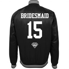 Football Bachelorette Party Custom Number Jackets