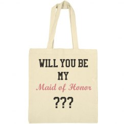 will you be my maid of honor