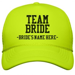 Custom Team Bride Green