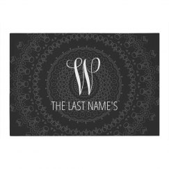 Custom Monogram Newlywed Gift