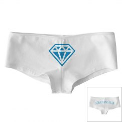 Something Blue Diamond Panties Gift For Bride To Be