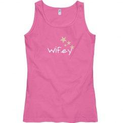 Wifey Pink Tank Top