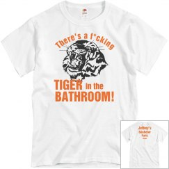 Vegas Bathroom Tiger