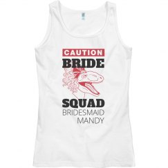 Caution Raptor Bride