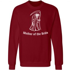 Halloween Wedding Mother of bride sweatshirt