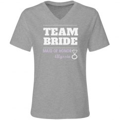 Purple Team Bride MOH