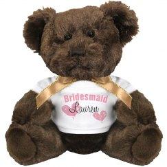 Bridesmaid Teddy
