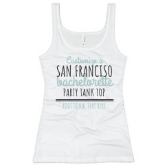 Custom San Francisco Bachelorette Tank