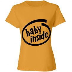 Women's Baby Inside T-shirt