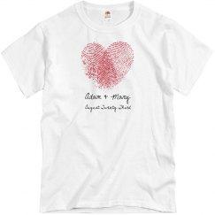 Finger Print Heart
