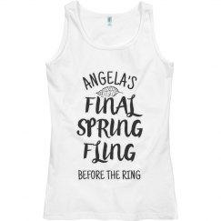 It's Her Final Spring Fling