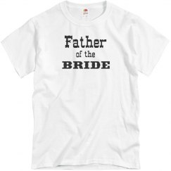 Father of the Bride Men's Tee