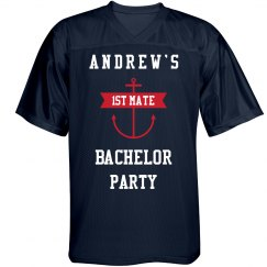 Nautical Bachelor Party Navy