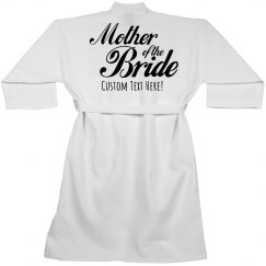 Mother of the Bride Custom Robe