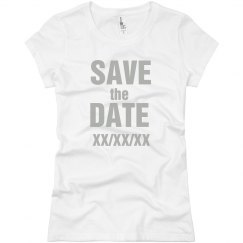 Save The Date Girl