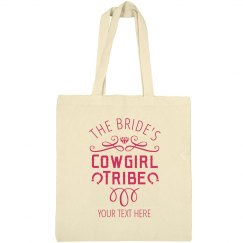 Bride's Custom Cowgirl Tribe