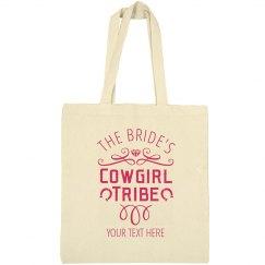 Bride's Custom Cowgirl Tribe