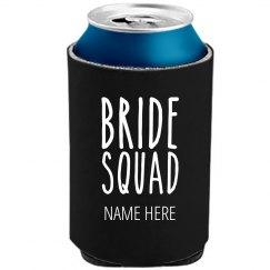 Bride Squad Bachelorette Koozie