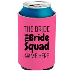 Bachelorette Bride Squad Neon
