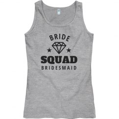 Bride Squad Group Tank Tops