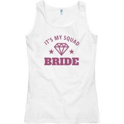 Bride Squad Tanks For Group