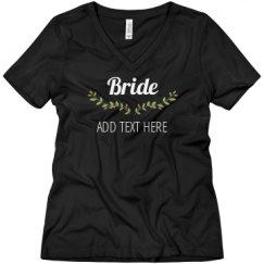 Ladies Relaxed Fit V-Neck Tee