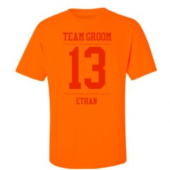 Team Groom Neon Tee