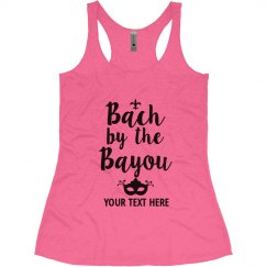Bach by the Bayou, New Orleans Bachelorette Tank tops