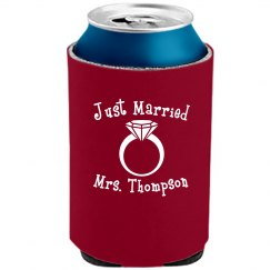 Just Married Can Cooler