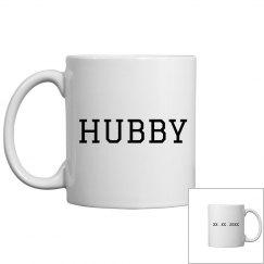 Simple Custom Date For Hubby
