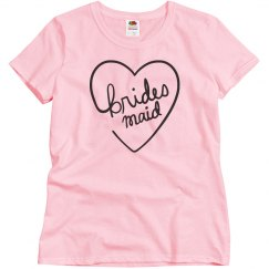 Bridesmaid Heart Tee