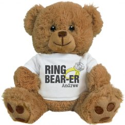 Custom Ring Bearer Teddy
