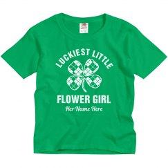 Lucky Little Irish Flower Girl