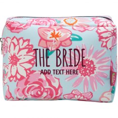 Custom Floral Bride Gift