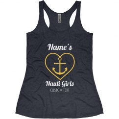 Nautical Bachelorette Tank